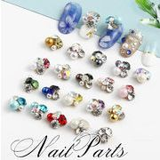 vnsh000347★5000以上送料0円★ネイルパーツ★宝石のようなデコパーツ ラインストーン 真珠 ビジュー