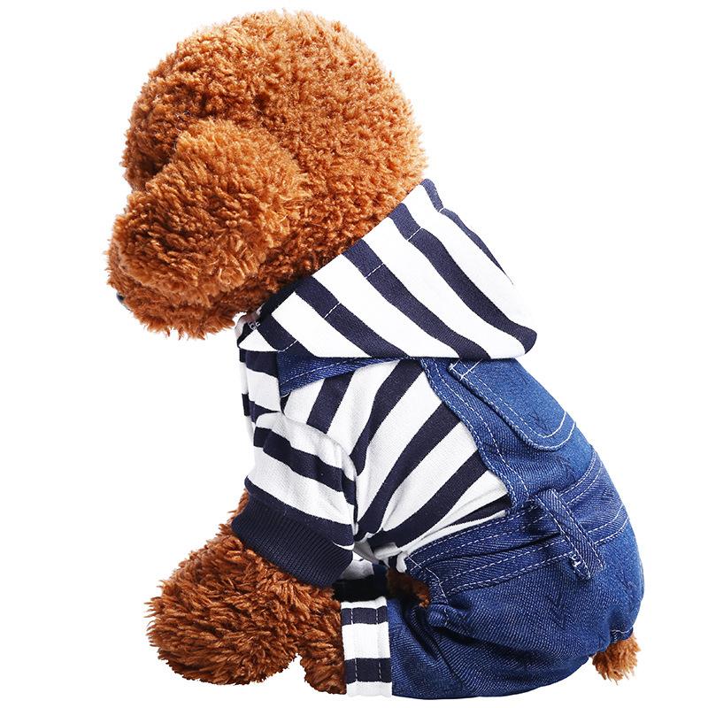 ネコ服 ペット服 犬服 帽子付き ペット用品