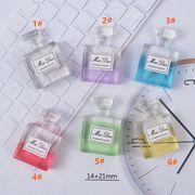 新入荷!! 樹脂 香水のボトル クリーム 携帯の殻 部品 微景観 アクセサリー
