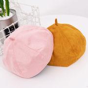 冬新発売 ベレー レディース ベレー帽 帽子 八角形 5色