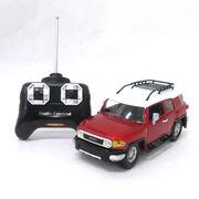【ラジコン】公式ライセンス品 GKレーサー トヨタ FJクルーザー レッド (商品コード:200-701)