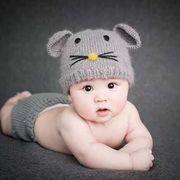 新発売★赤ちゃん★可愛い新作★手作り★写真の帽子★撮影★超カワイイベビー帽子