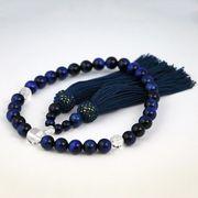 いざという時の必需品・青虎眼石(ブルータイガーアイ)の数珠 女性用