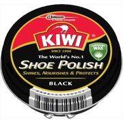 KIWI油性靴クリーム 黒 45ML 【 ジョンソン 】 【 シューケア 】