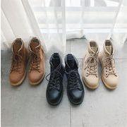 【レビュー好評】韓国ファッション/百掛け/厚底/ハイカットの靴/カジュアルシューズ/メンズシューズ