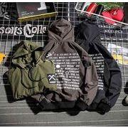 初春新作メンズジャケット トップス大きいサイズ おしゃれ♪ブラック/ダークグレー/グリーン3色