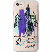 iPhone8/7/6s/6  Hybrid Naked Tough City Print Chicago Discover Chicago  CM035286