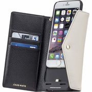 iPhone6s/6  Charging Folio Wristlet Black/Sand  CM033498
