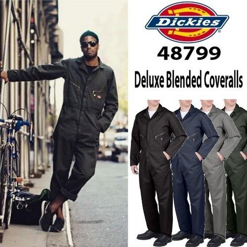 【DICKIES】(ディッキーズ) USA企画 Deluxe Blended Coveralls / カバーオール 長袖つなぎ