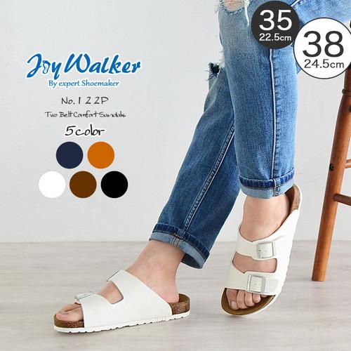 【joy walker】 レディースサイズ コンフォート サンダル 5色