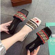 スリッパ フラット シューズ レディース 靴 カジュアル シンプル 韓国