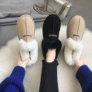 スノーブーツ 女 新しいデザイン 韓国風 ファッション スキッド コットン靴 ウインター