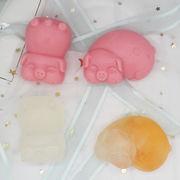 激安☆手作り製菓フォンダン★チョコレート★アロマストーン★モールド★手作り石鹸アロマ★ブタ干支旧正月