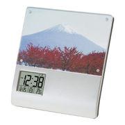 (インテリア・バラエティ雑貨)レコーダーフォトフレームクロック K-886