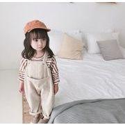 【特価】オーバーオール 女の子 80-120# サロペット コーデュロイ キッズパンツ ズボン 子供服