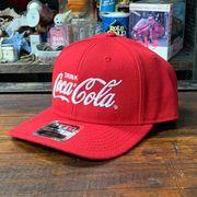 コカ・コーラ x OTTO・ウールブレンド・ツイルキャップ