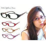 レディース 超軽量 メガネ TR9117 眼鏡 めがね ダテ眼鏡 だてめがね