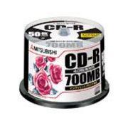 三菱化学メディア CD-R(Data)P-Cyanine SR80PP50 00054320