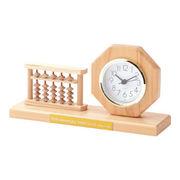 (クロック/ウォッチ)(記念時計/オリジナル)そろばん付き記念時計 H-800