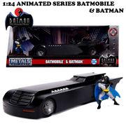 ANIMATED SERIES BATMOBILE W/BATMAN【バットモービル】【JADA ミニカー】