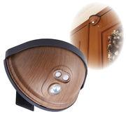 ●ドア用センサーライト 木目タイプ ASL-3303MO