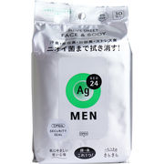 エージーデオ24メン メンズシート フェイス&ボディ スタイリッシュシトラス 30枚入