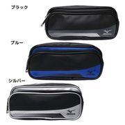 【ペンケース】Mizuno ミズノ ファスナーポケット付き W ペンケース