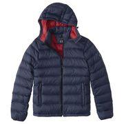 正規品 アバクロ メンズ ジャケット ( 中綿 ) Abercrombie&Fitch The A&F Removable Hood Packable Puffer
