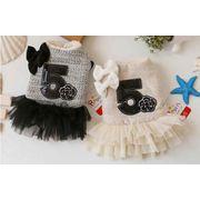 可愛い ワンピース 犬服★洋服★ペット用品(XS-XL)