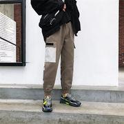 【新作限定】韓国ファッション/CHIC気質/大人気/トレンド/学生/ワイドレッグパンツ/ロングパンツ