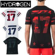 ☆50% OFF☆【HYDROGEN】(ハイドロゲン) HOCKEY CAMO SKULL T-SHIRT / 半袖 Tシャツ 4色