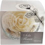 〇2019 new Sola Flower ソラフラワー Glass Bowl グラスボウル Precious Rose プレシャスローズ