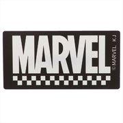 【缶バッジ】MARVEL ダイカット クリル バッジ/ブラック マーベル