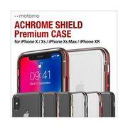 motomo ACHROME SHIELD Premium CASE iPhone X/Xs  iPhone XR iPhone Xs Max クリアケース スマホ カバー