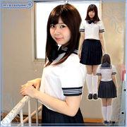 1122E★MB■送料無料■豊島岡女子学園中学校・高等学校 夏制服 サイズ:M/BIG