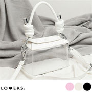 ★個性的なデザイン 春新作 スクエアクリアバッグ  防水 携帯用 スモールスクエアバッグ 鞄  PVC  ハンド