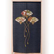 ●金彩三つ扇松竹梅のれん