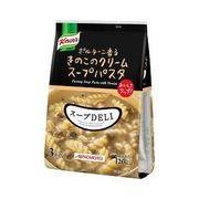 【ケース売り】クノール スープデリ ポルチーニ香るきのこのクリームスープパスタ ( 3食入 )