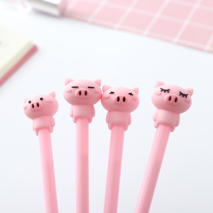 豚型 水性ボールペン ゲルインクボールペン 文具 プレゼント