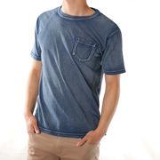 Tシャツ メンズ 半袖 ポケットTシャツ 半袖Tシャツ メンズTシャツ トップス クルーネック