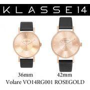 【まとめ割10%OFF】KLASSE14 クラス14 腕時計 VOLARE VO14RG001 36mm 42mm ゴールド ブラックレザー
