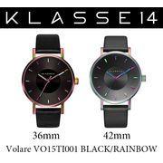 【まとめ割10%OFF】KLASSE14 クラス14 腕時計 VOLARE VO15TI001 36mm 42mm レインボー ブラックレザー