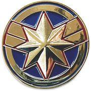 【ピンバッジ】キャプテンマーベル ピンズ3個セット