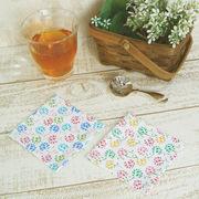 【新春セール】【爽やかな小花柄♪】アリウム コースター/ランチョンマット
