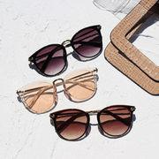 サングラス メガネ 眼鏡 小物 フレーム UV対策 クリアサングラス オシャレサングラス 海 プール トラベル