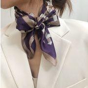ファッション新作  スカーフ 日焼け止め UVカット 夏 韓国 ハンカチ ヘアバンド デコパーツ