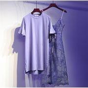 品質良い 店舗お勧め  新型 ワンビース 婦人服 太った姉妹 トップス  小さい新鮮な ロングスカート