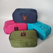 旅行ポーチ ブラ収納バッグ 下着収納 コスメバッグ 多機能バッグ トラベルバッグ 超軽量 整理バッグ