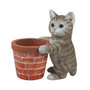 アニマルプランター(猫)キジトラ