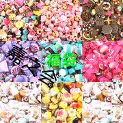 新品初日販売20%OFF♪ 福袋(約100個)  スポンジケーキ 樹脂素材